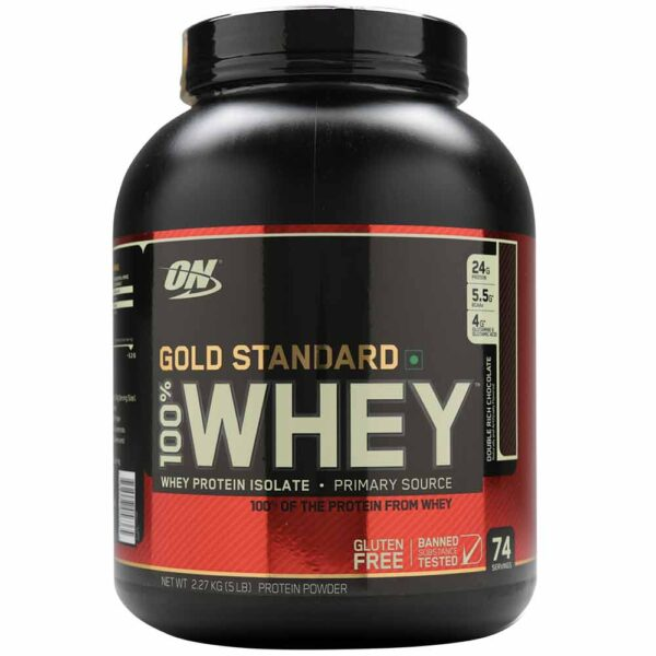 f9332906484 ON Gold Standard 100% Whey - 5LBS - Chocolate Flavour - Team Forever