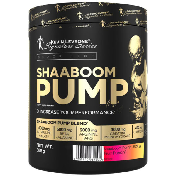 Shaboom Pump Pre Workout by Kevin Levrone, 385 Grams