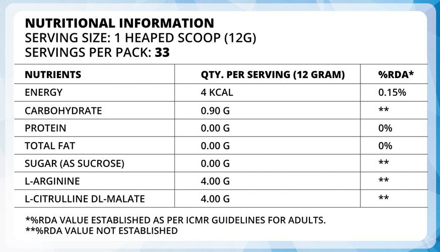 truforma-nitrik-ingredients